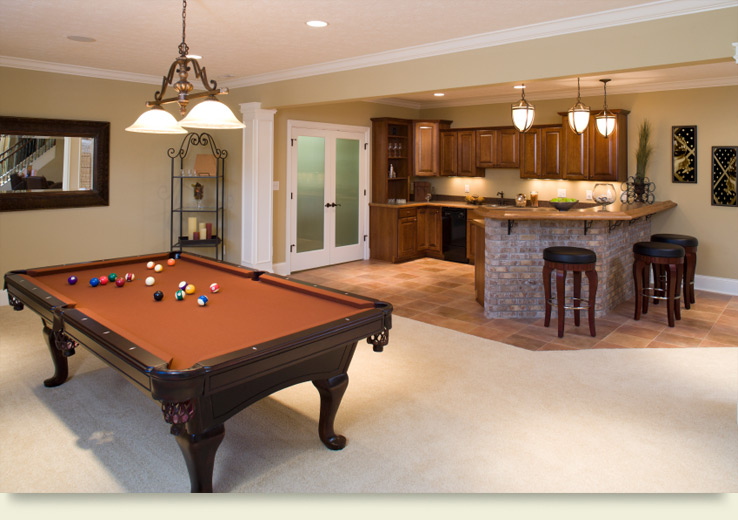 Media and game rooms lone star remodeling